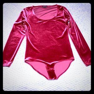 J Crew Velvet Body Suit